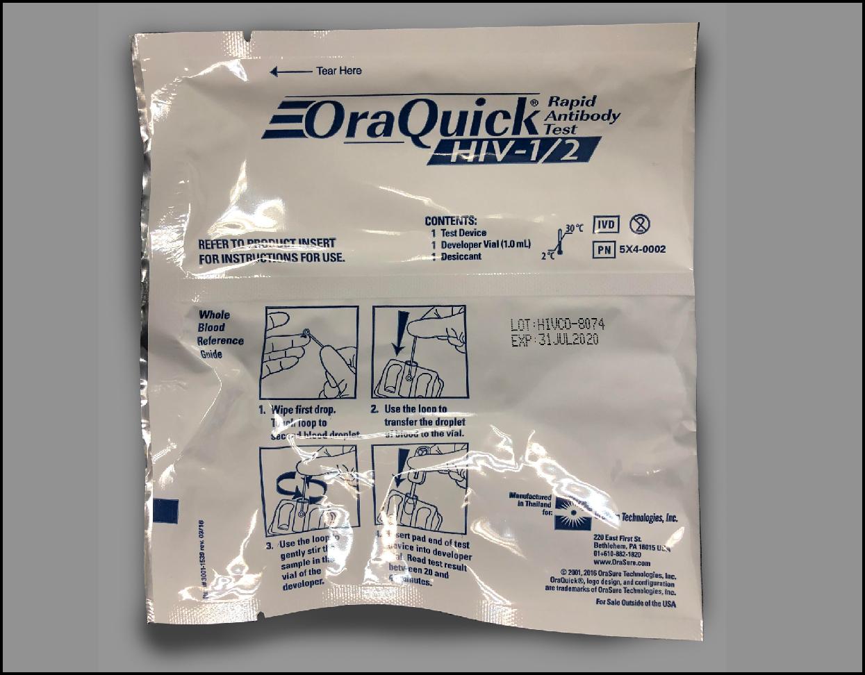 Oral fluid test - 關懷愛滋 AIDS Concern